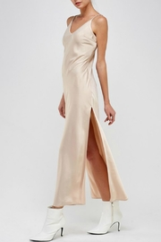 Pretty Little Things Satin Maxi Dress - Front full body