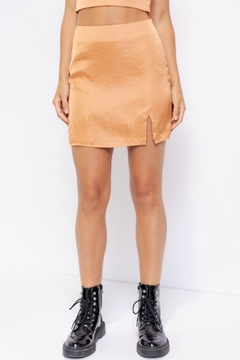 Pretty Little Things Satin Skirt - Product List Image