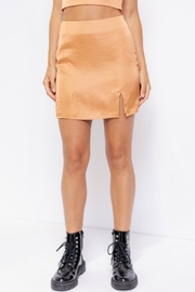 Pretty Little Things Satin Skirt - Product Mini Image