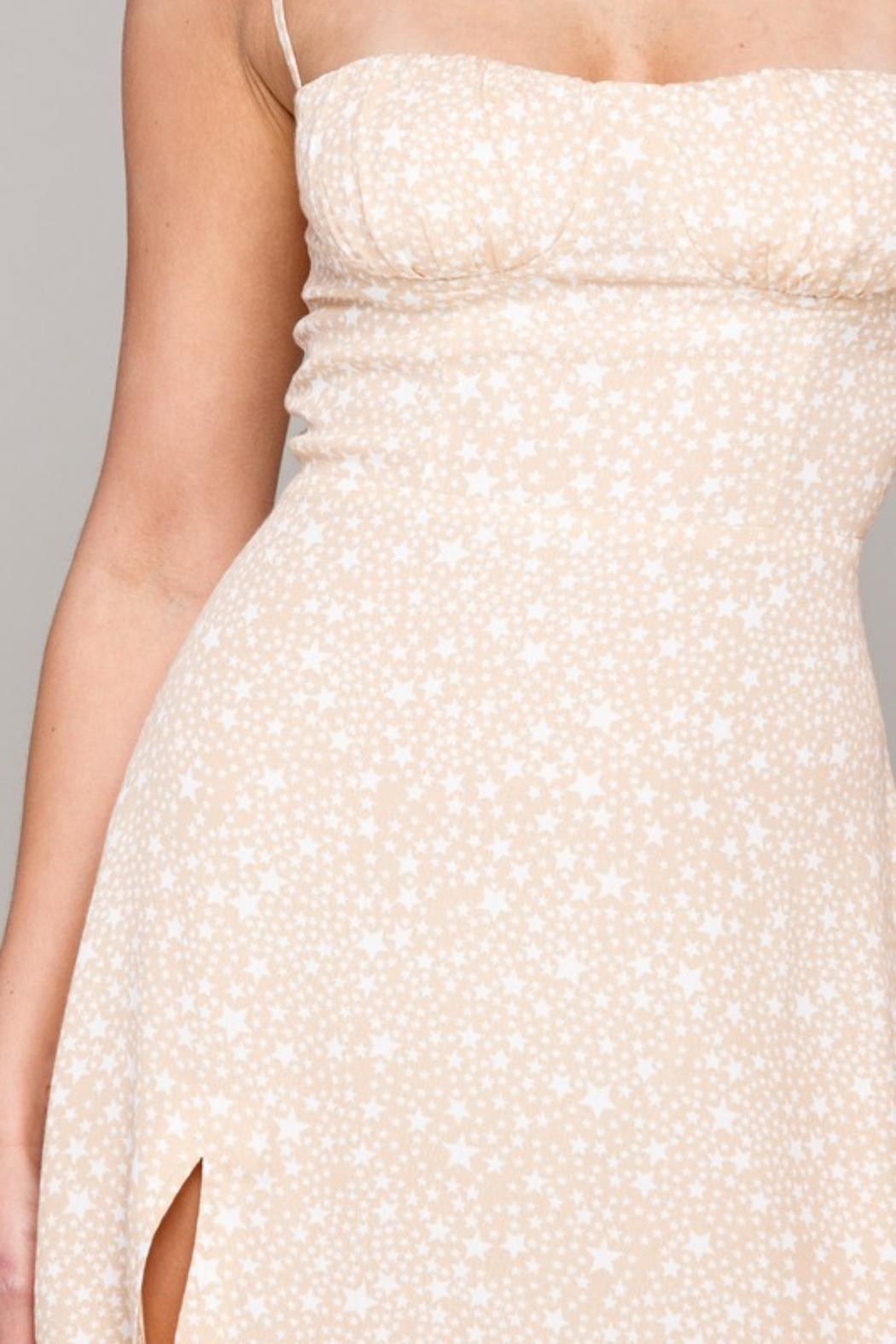 Pretty Little Things Star Bustier Dress - Side Cropped Image