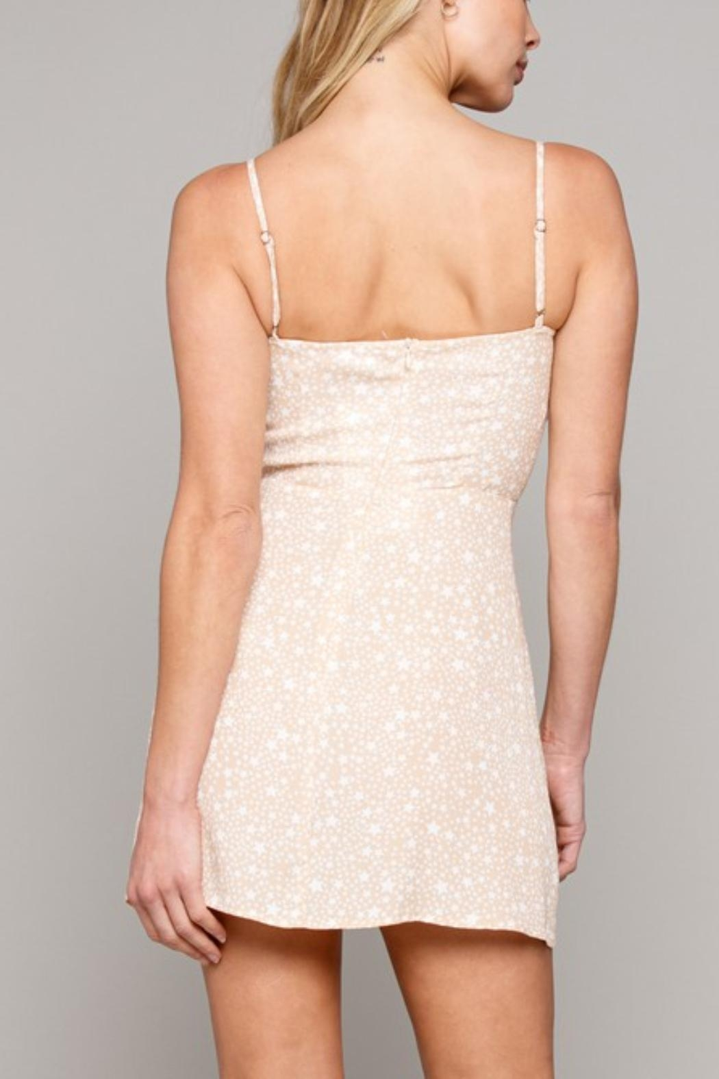 Pretty Little Things Star Bustier Dress - Front Full Image