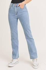 Pretty Little Things Straight Leg Jeans - Product Mini Image