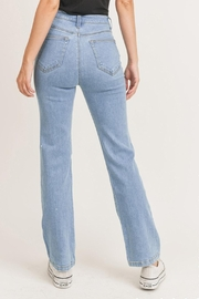 Pretty Little Things Straight Leg Jeans - Side cropped