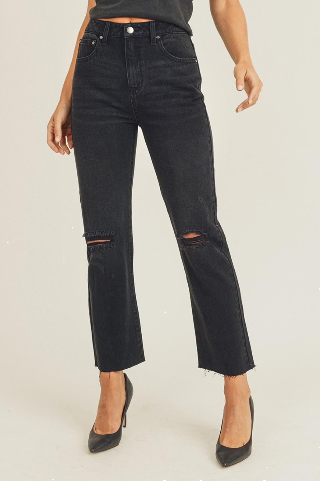 Pretty Little Things Straight Leg Jeans - Main Image
