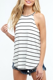 Pretty Little Things Striped Racerback Top - Product Mini Image