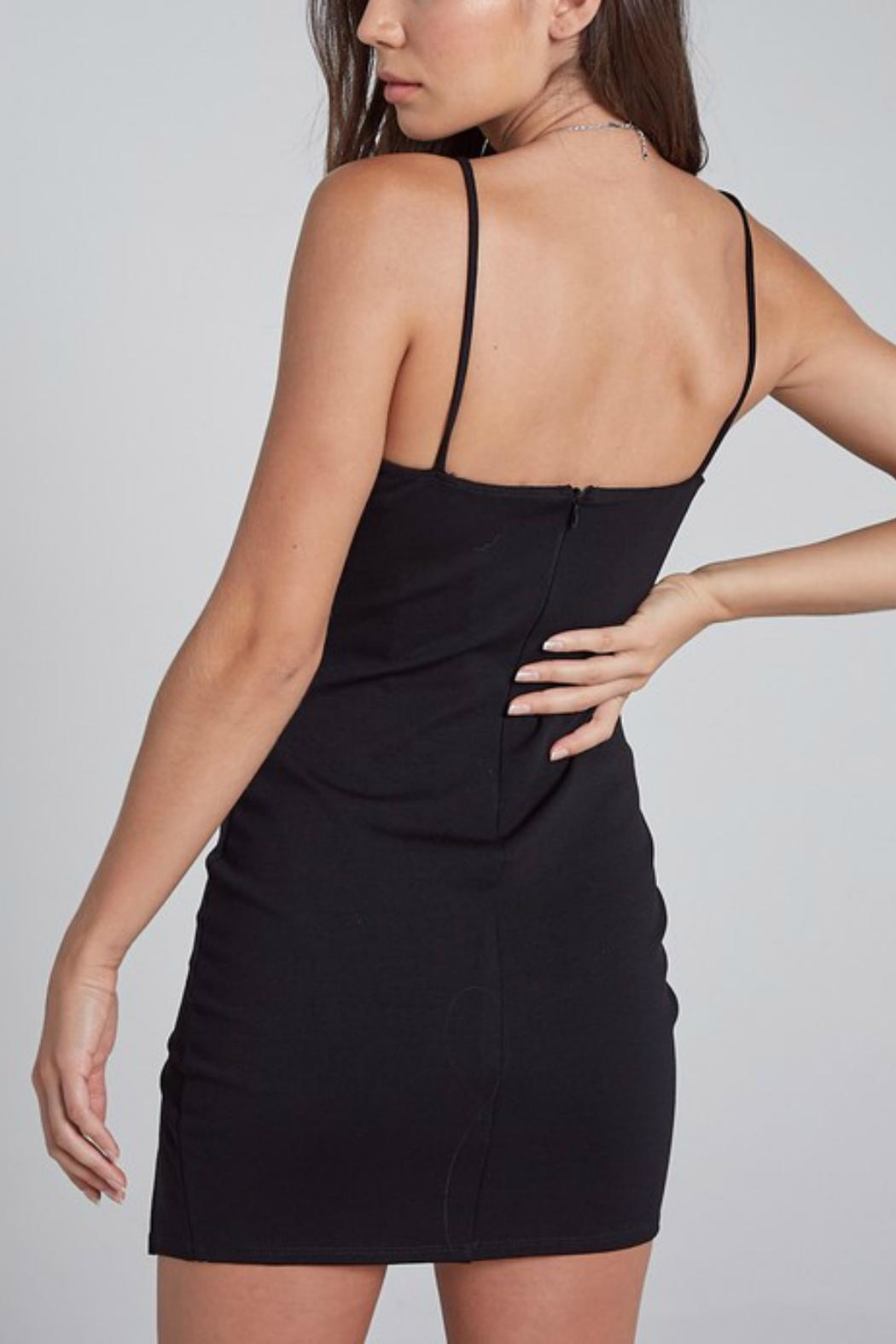 Pretty Little Things Sweetheart Bodycon Dress - Front Full Image