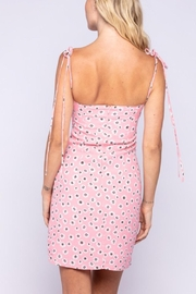Pretty Little Things Tie Bustier Dress - Front full body