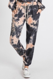 Pretty Little Things Tie Dye Joggers - Product Mini Image