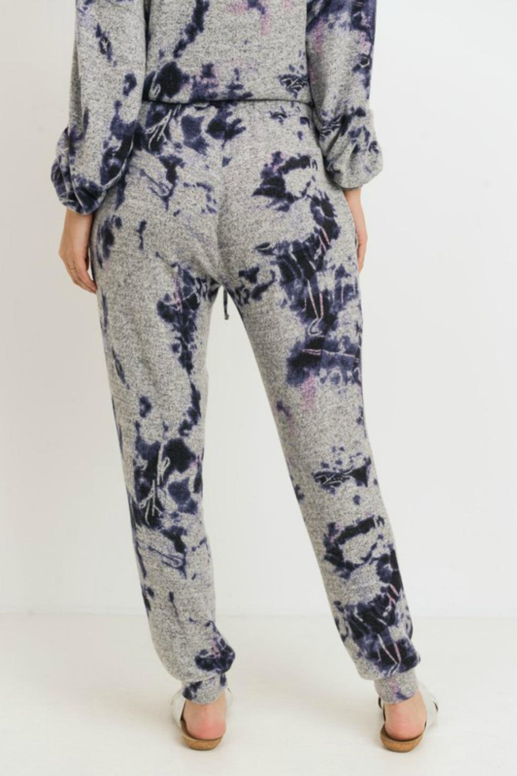 Pretty Little Things Tie Dye Joggers - Front Full Image