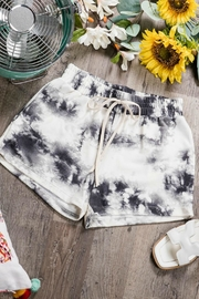 Pretty Little Things Tie Dye Shorts - Product Mini Image