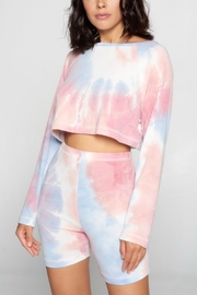 Pretty Little Things Tie Dye Sweatshirt - Product Mini Image