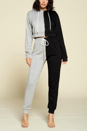 Pretty Little Things Two Tone Hoodie - Front cropped