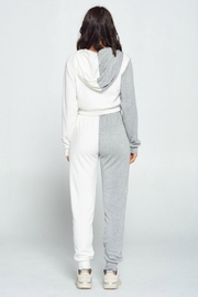 Pretty Little Things Two Tone Hoodie - Front full body