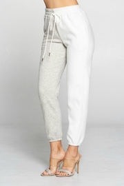 Pretty Little Things Two Tone Sweatpants - Product Mini Image