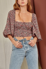 Pretty Little Things Underwire Bustier Blouse - Product Mini Image