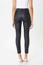 Pretty Little Things Vegan Leather Pants - Front full body