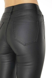 Pretty Little Things Vegan Leather Pants - Back cropped