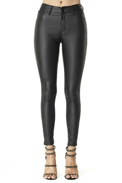 Pretty Little Things Vegan Leather Pants - Product List Image