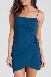 Pretty Little Things Wrapped Tulip Dress - Front cropped
