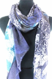 Pretty Persuasions Abstract Print Scarf - Front full body