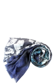 Pretty Persuasions Abstract Print Scarf - Front cropped