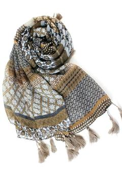 Pretty Persuasions Brown Potpourri Scarf - Alternate List Image