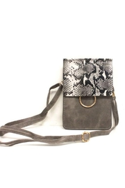 Pretty Persuasions Classic Python Crossbody - Front cropped