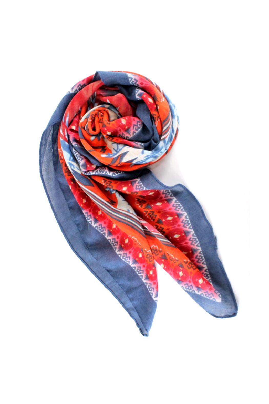 Pretty Persuasions Colorful Printed Scarf - Main Image