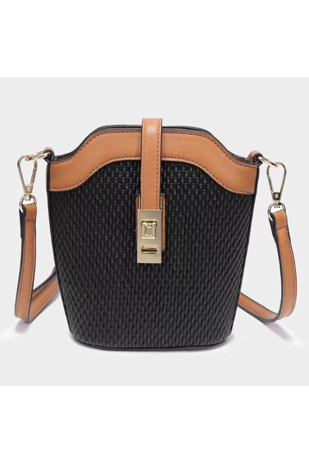 Pretty Persuasions Front Latch Crossbody - Front Cropped Image