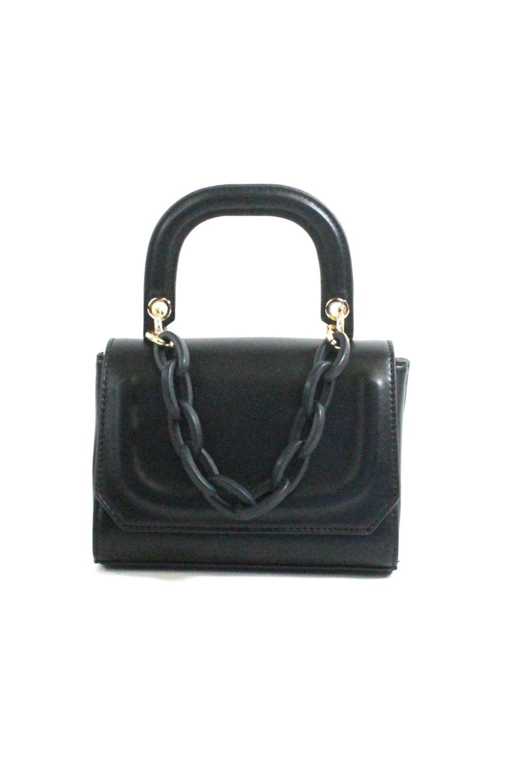 Pretty Persuasions Handle & Chain Crossbody - Front Cropped Image
