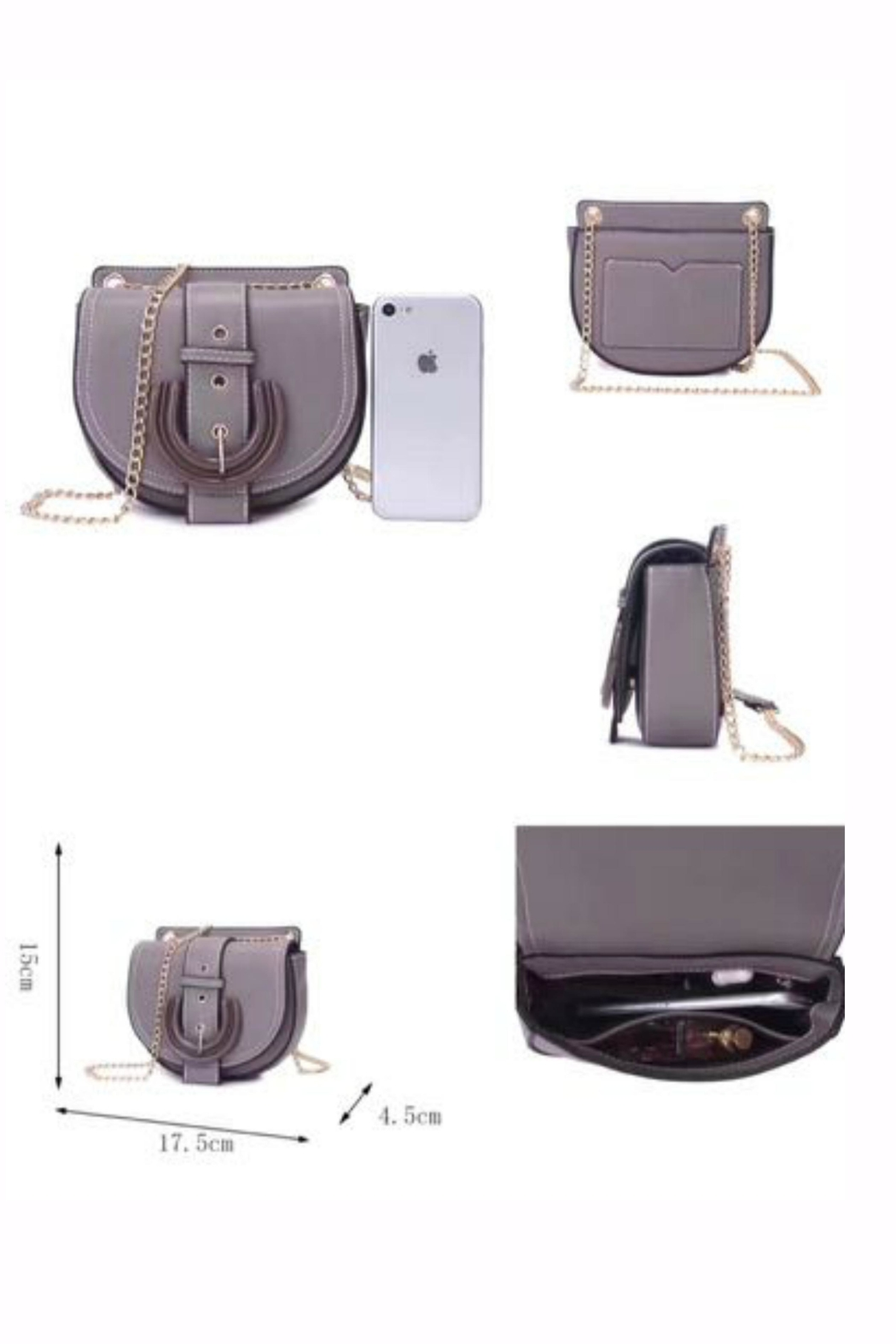 Pretty Persuasions Klo Mini Crossbody - Front Full Image