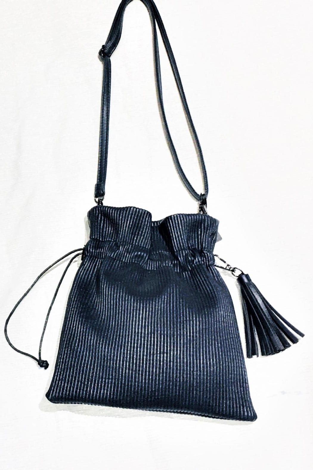 Pretty Persuasions Pleated Cinch Purse - Front Full Image