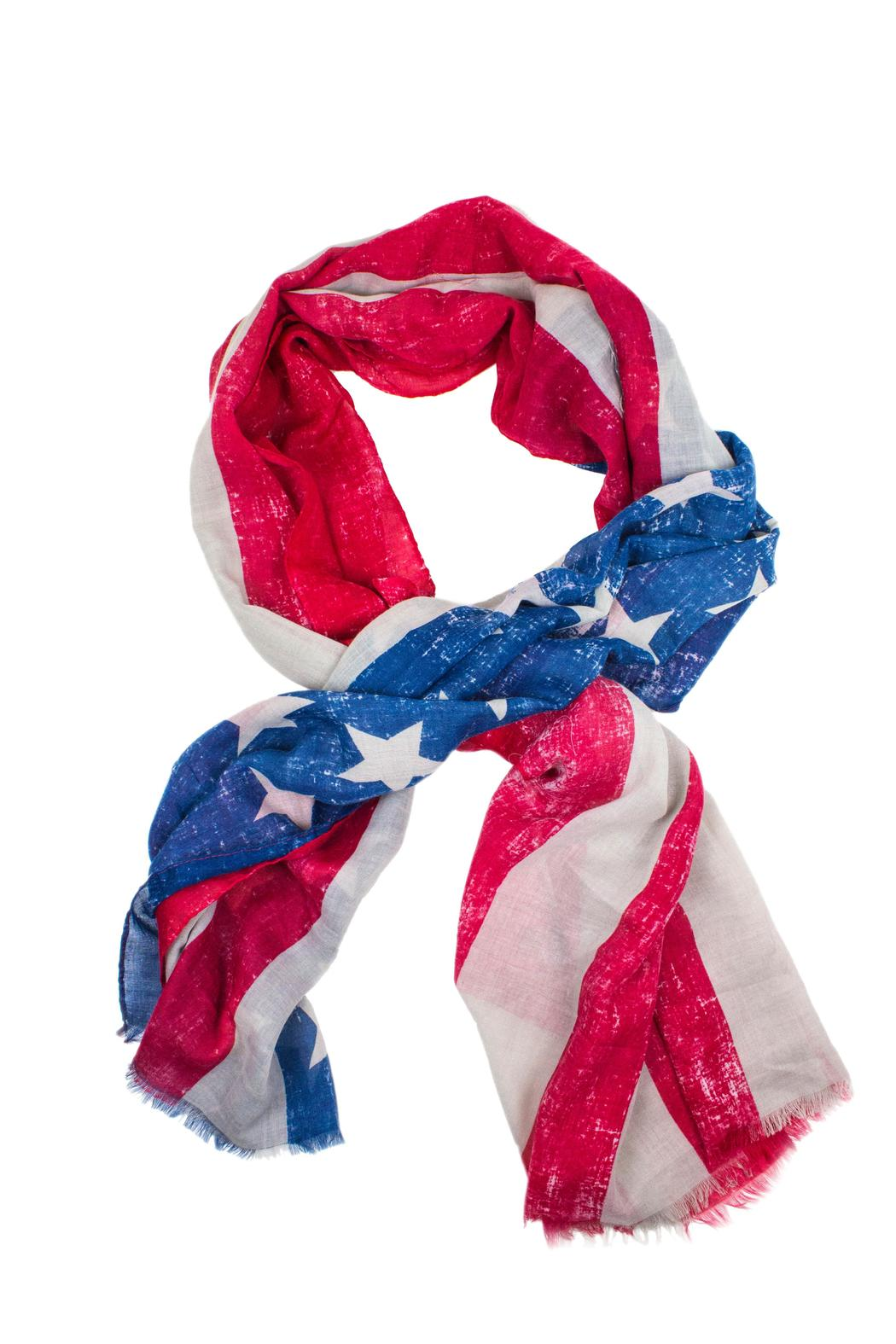 pretty persuasions 4th of july scarf from chicago by