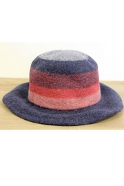 Pretty Persuasions Striped Brim Hat - Product Mini Image