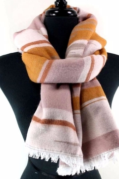 Shoptiques Product: Striped Winter Scarf