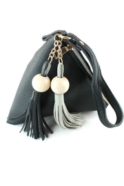 Pretty Persuasions Triangle Tassel Wristlet - Front cropped