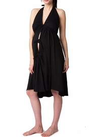 Pretty Pushers Halter Labor Gown - Product Mini Image