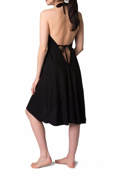 Pretty Pushers Halter Labor Gown - Alternate List Image