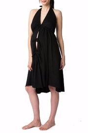 Pretty Pushers Labor Gown Plus - Front full body