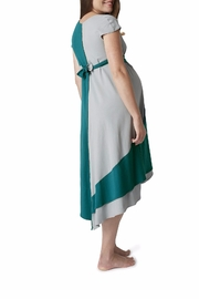 Pretty Pushers Transition Gown - Front full body