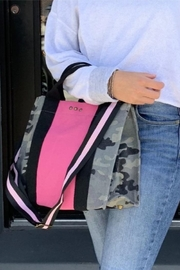 Pretty Simple Pink Camo Crossbody - Product Mini Image