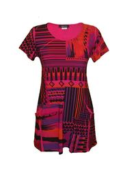 Pretty Woman Lucy Short-Sleeve Tunic - Product Mini Image