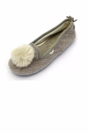 Pretty You London Grey Slippers - Product Mini Image