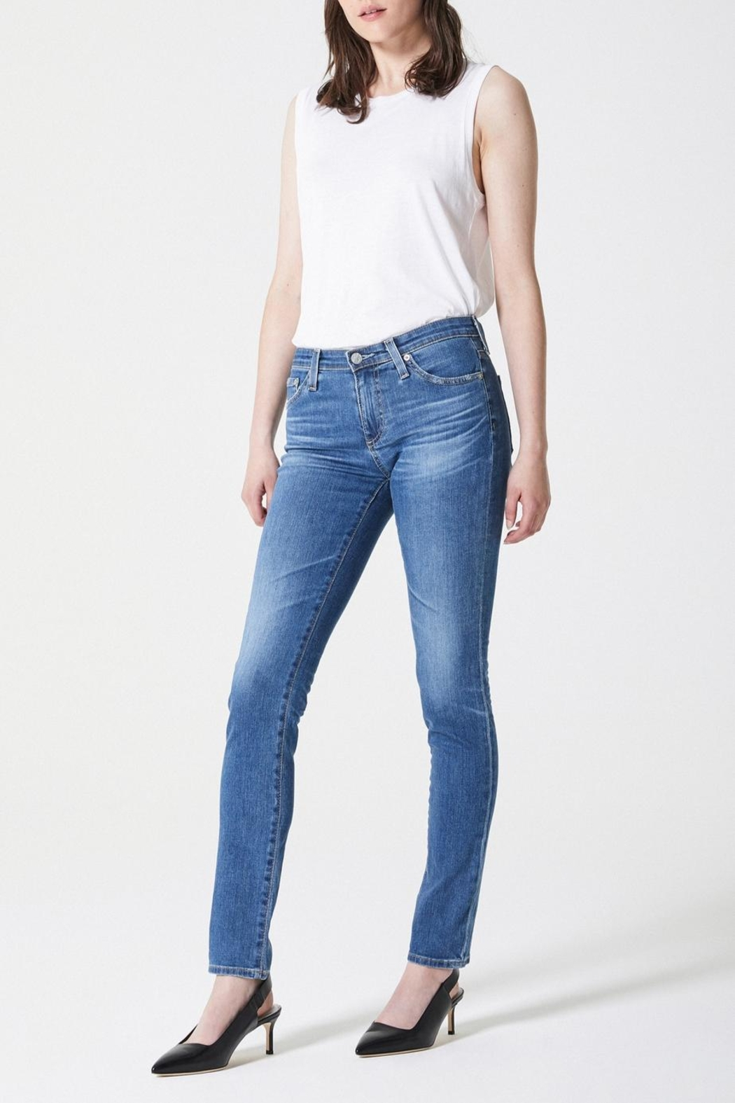 AG Jeans Prima Midrise Cigarette - Front Full Image