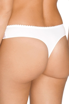 Prima Donna Embroidered Lace-Trim Thong - Alternate List Image