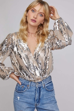 ASTR Primadonna Sequin Top - Alternate List Image