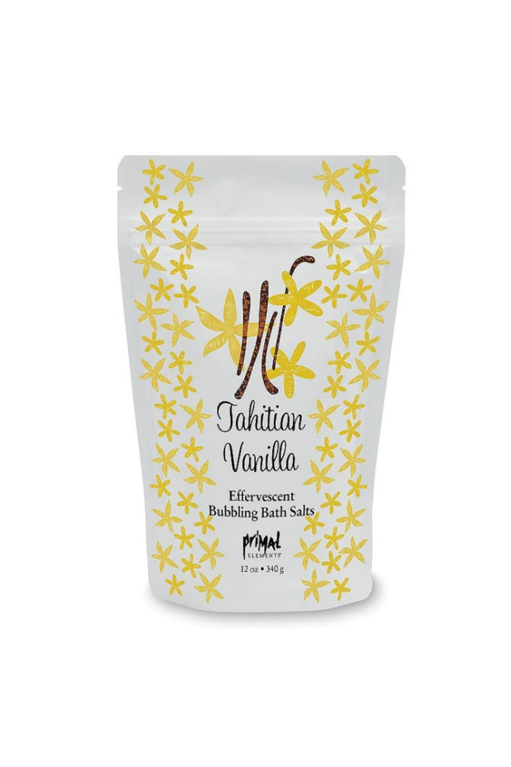 Primal Elements Vanilla Bath Salt - Main Image