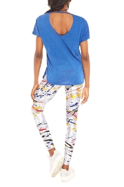 Terez Primary Paint Legging - Back cropped