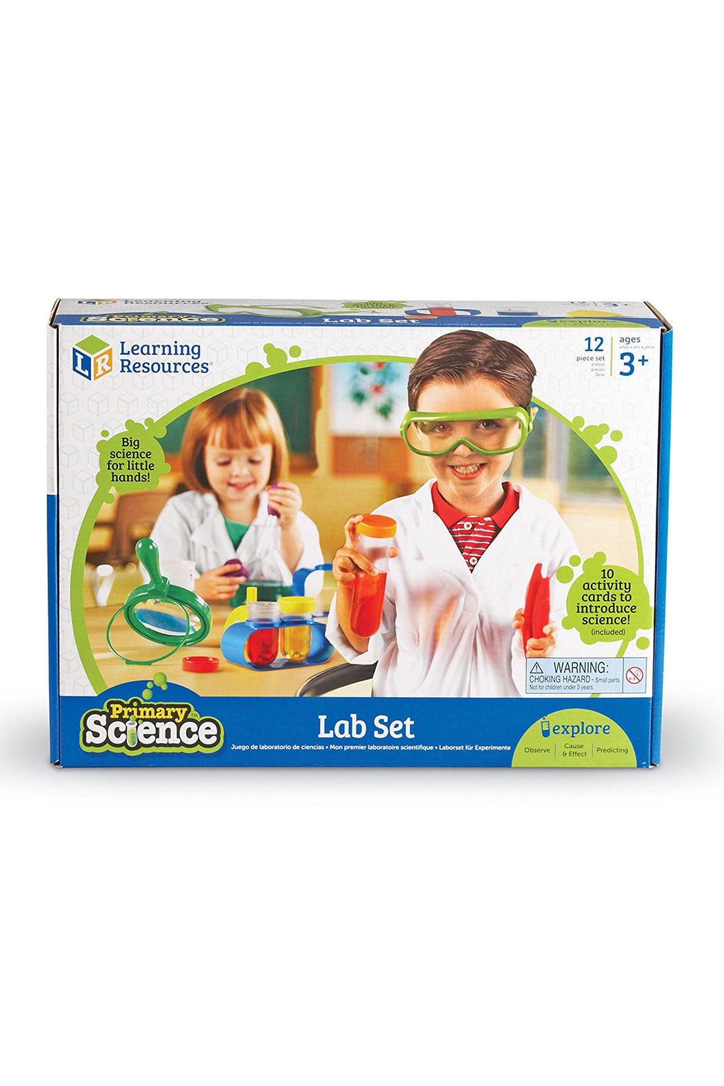 Learning Resources Primary Science Lab Set - Front Full Image