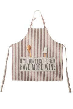 Primatives by Kathy More Wine Apron - Alternate List Image